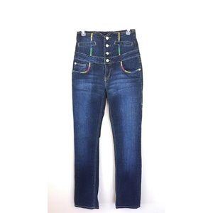 Coogi High Waisted Straight Jeans Skater Hip Hop